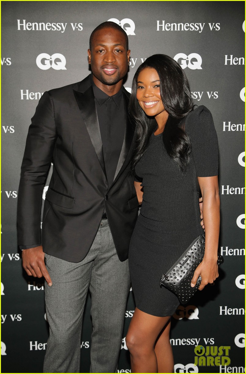 gabrielle union dwyane wade gq men book celebration 052971040