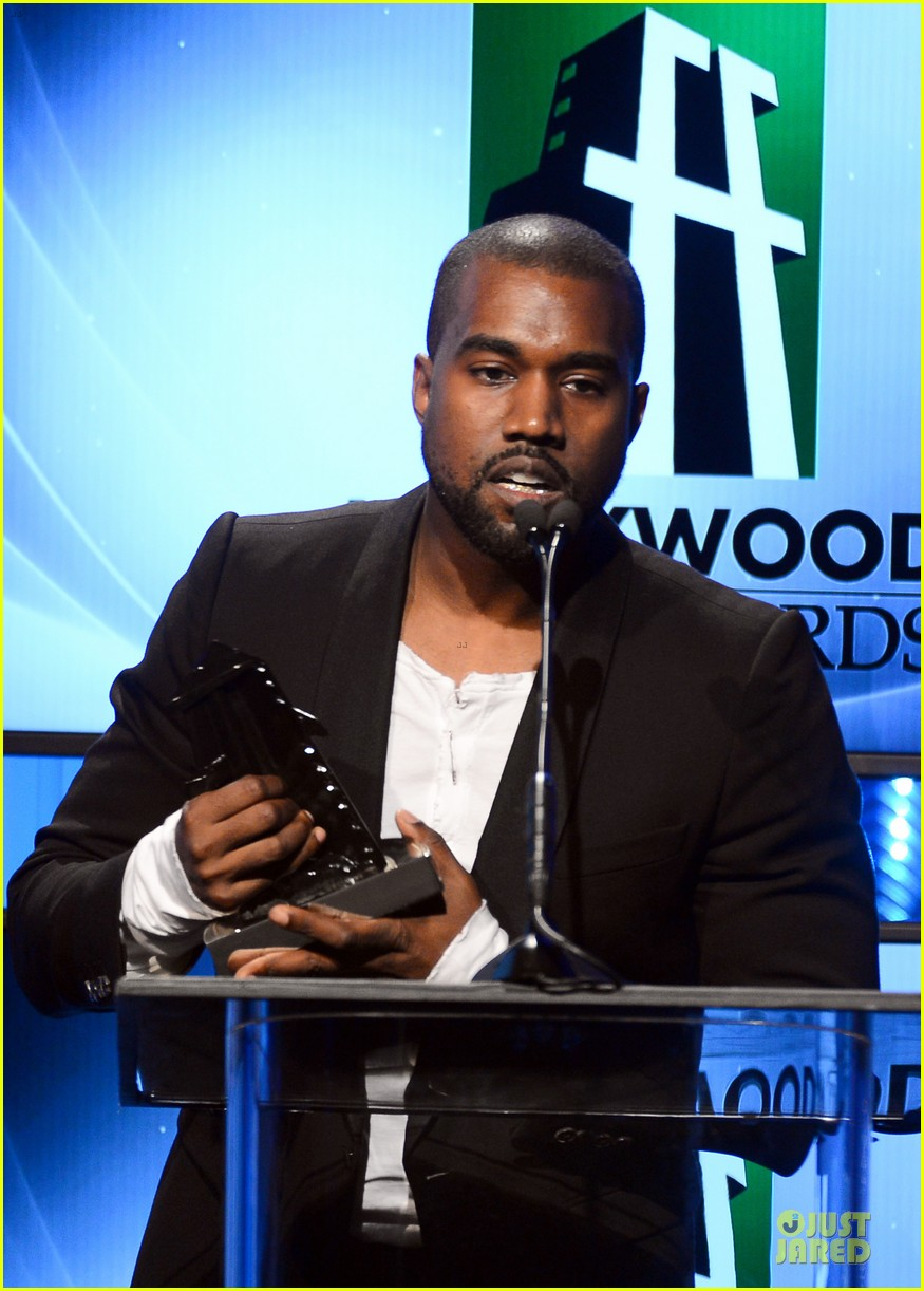 kanye west engagement glow at hollywood film awards 2013 13