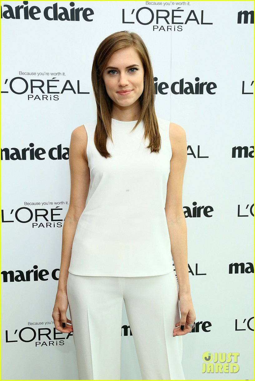 allison williams marie claire power women lunch 062983033