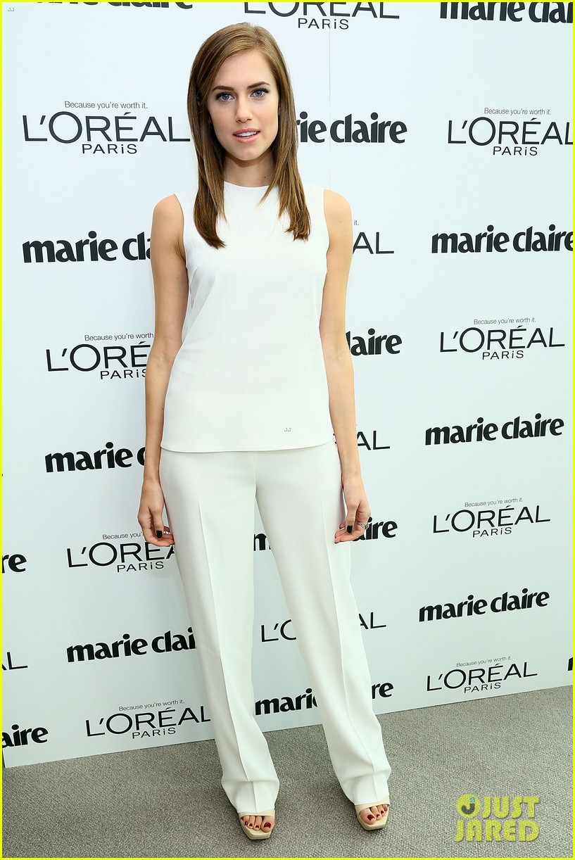 allison williams marie claire power women lunch 09