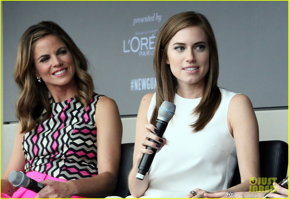 allison williams marie claire power women lunch 14