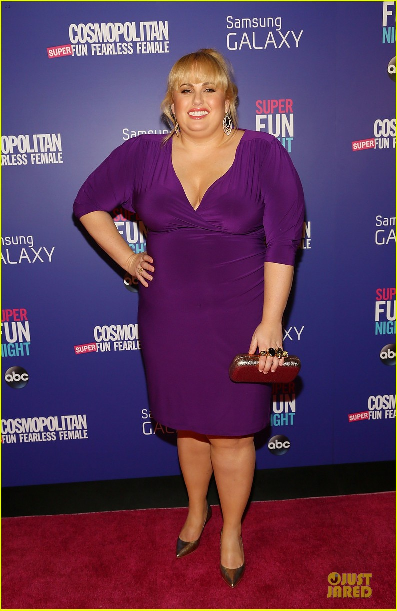 rebel wilson super fun night premiere 152964152