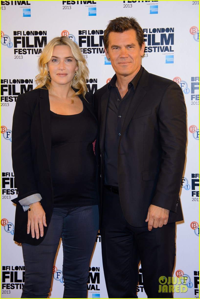kate winslet josh brolin labor day bfi fest photo call 12
