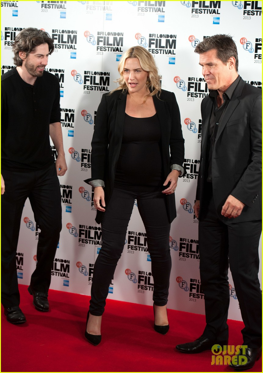 kate winslet josh brolin labor day bfi fest photo call 15