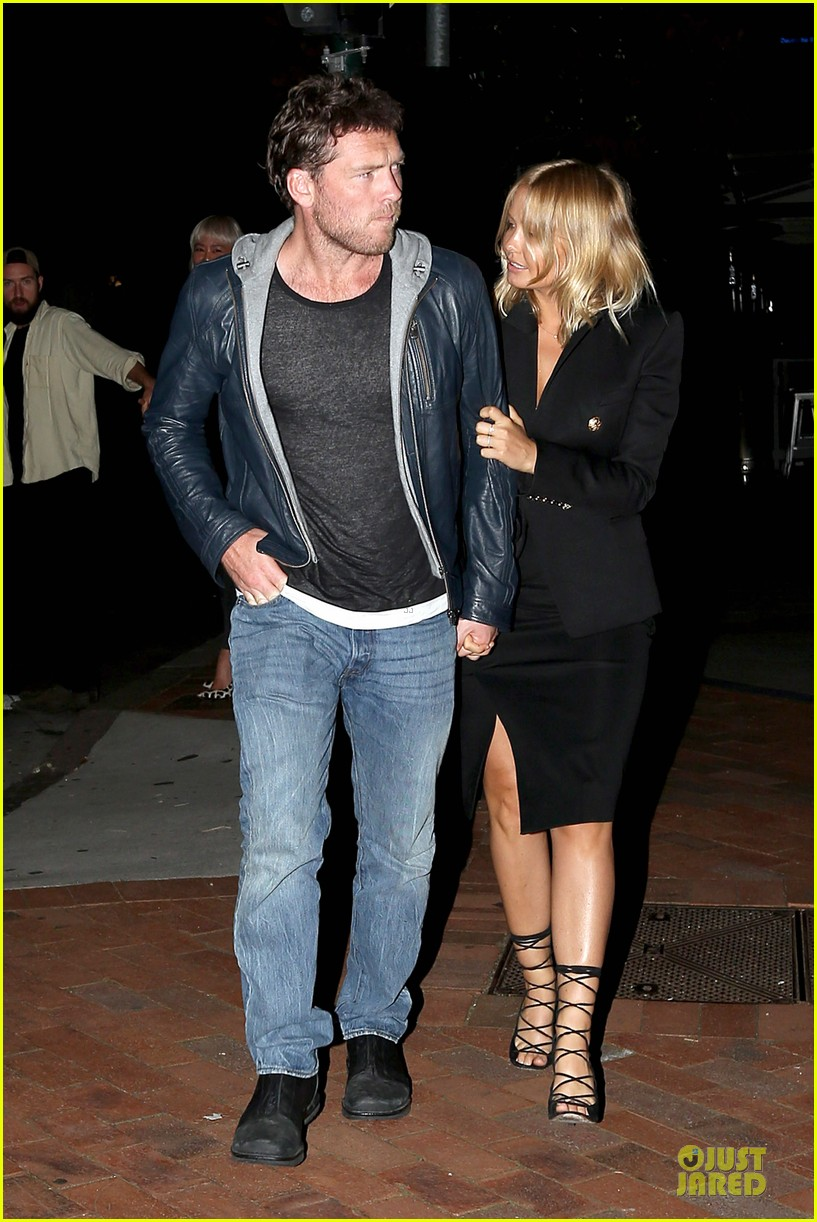sam worthington lara bingle new couple alert 092969217