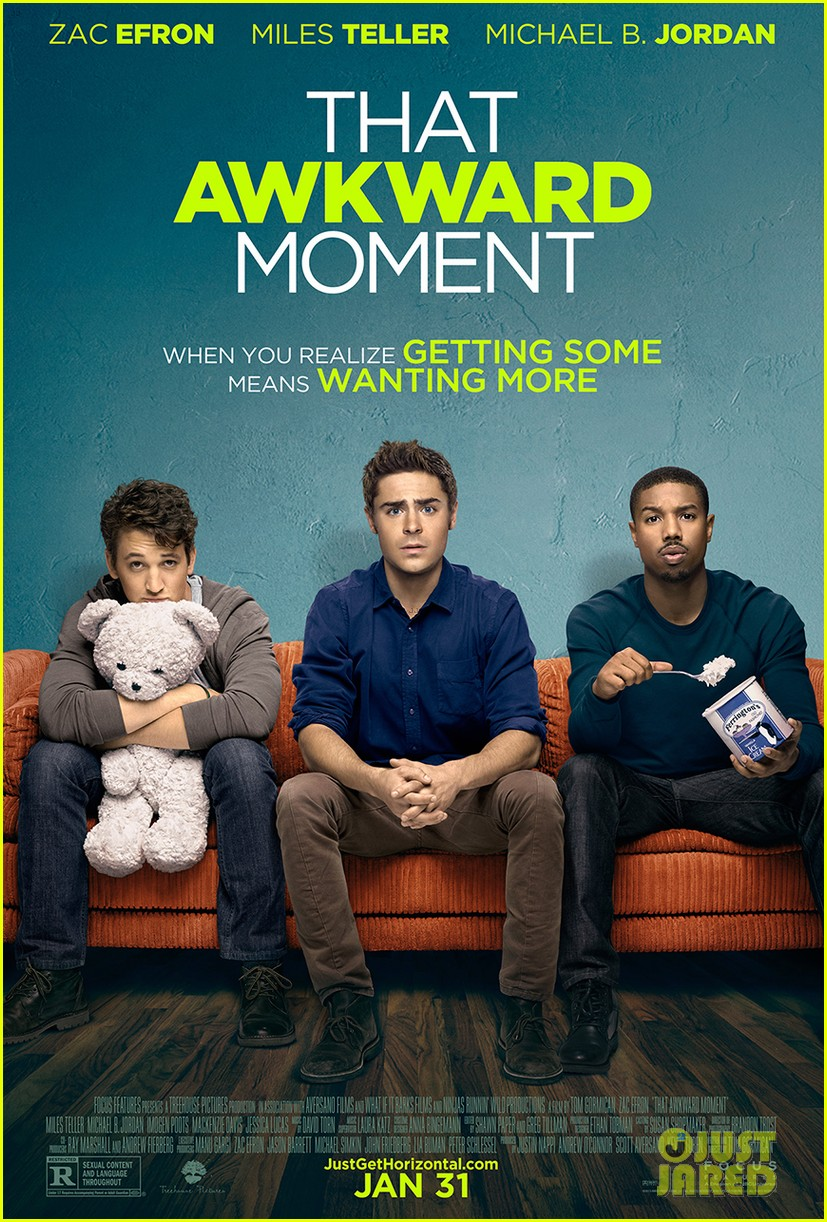 zac efron that awkward moment poster debut exclusive 01
