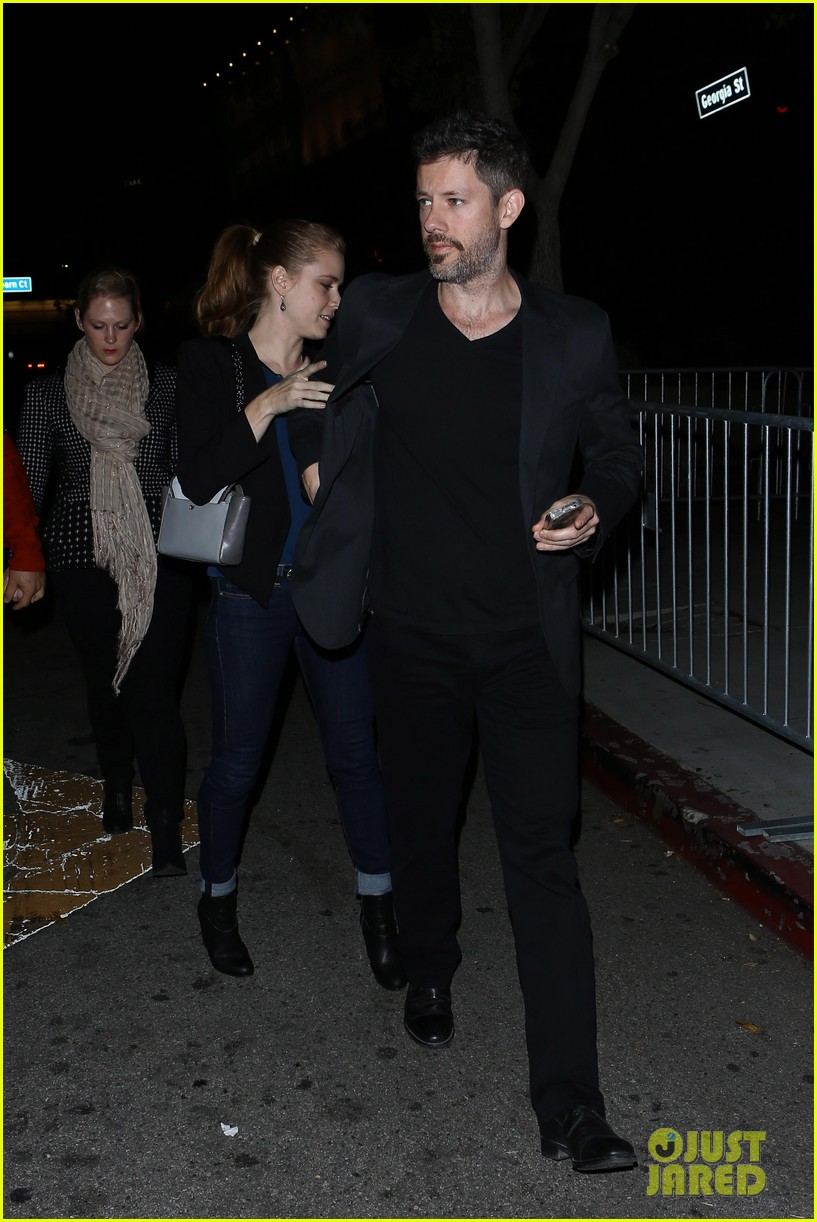 amy adams supports pal justin timberlake at 2020 concert 05