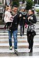jessica alba cash warren wet family stroll after thanksgiving 09
