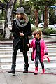 jessica alba cash warren wet family stroll after thanksgiving 12