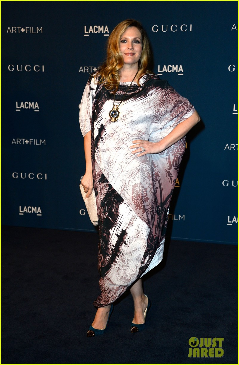 drew barrymore dakota johnson lacma art film gala 24