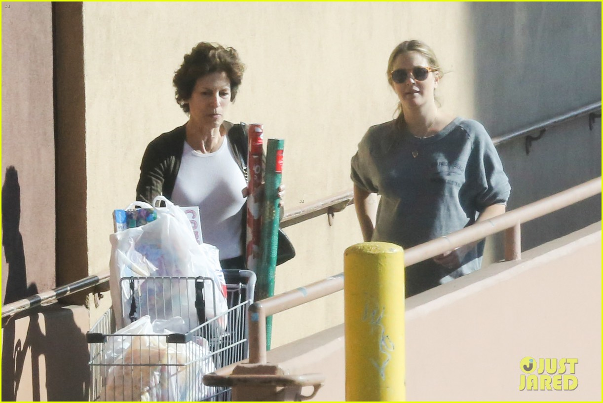 drew barrymore thanksgiving grocery shopping 093001984