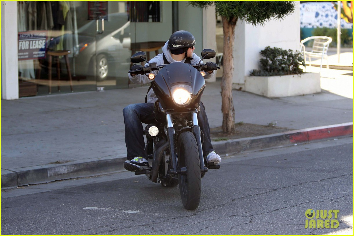 charlie hunnam west hollywood motorcycle man 05