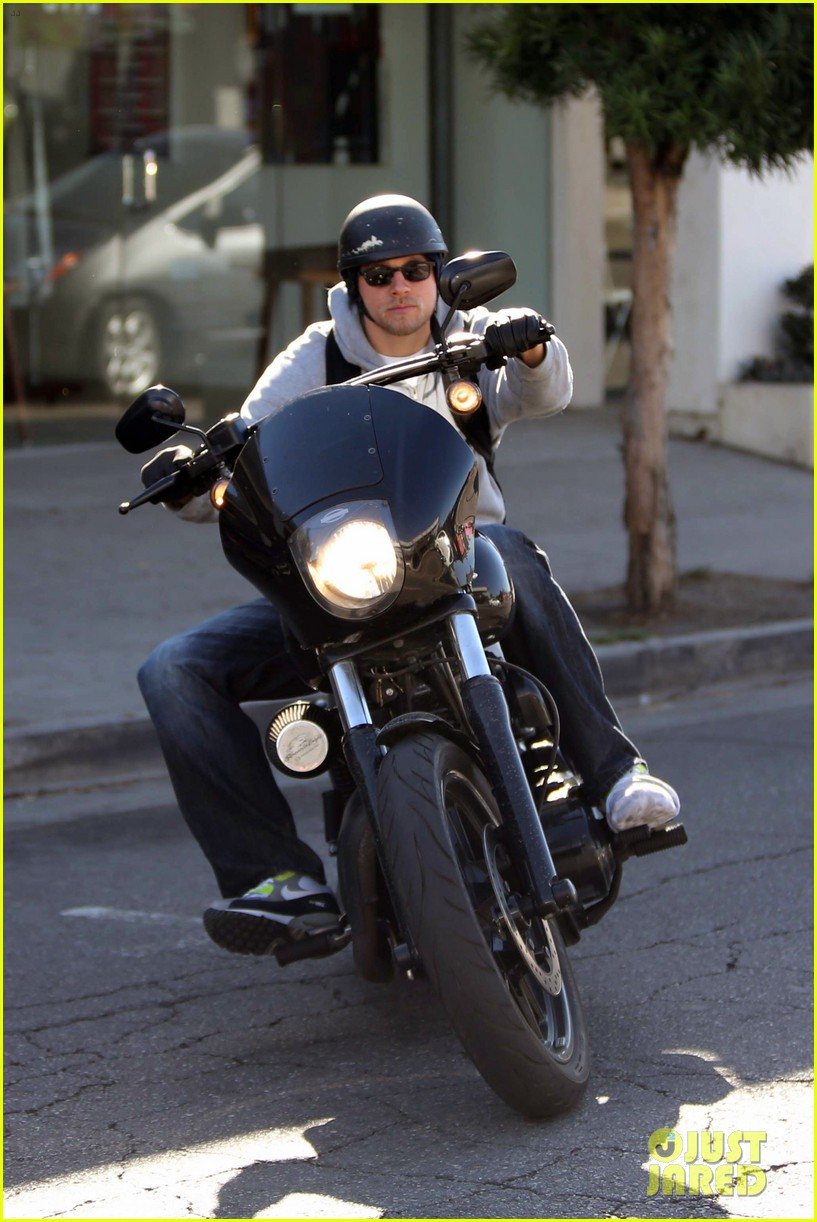 charlie hunnam west hollywood motorcycle man 072985615