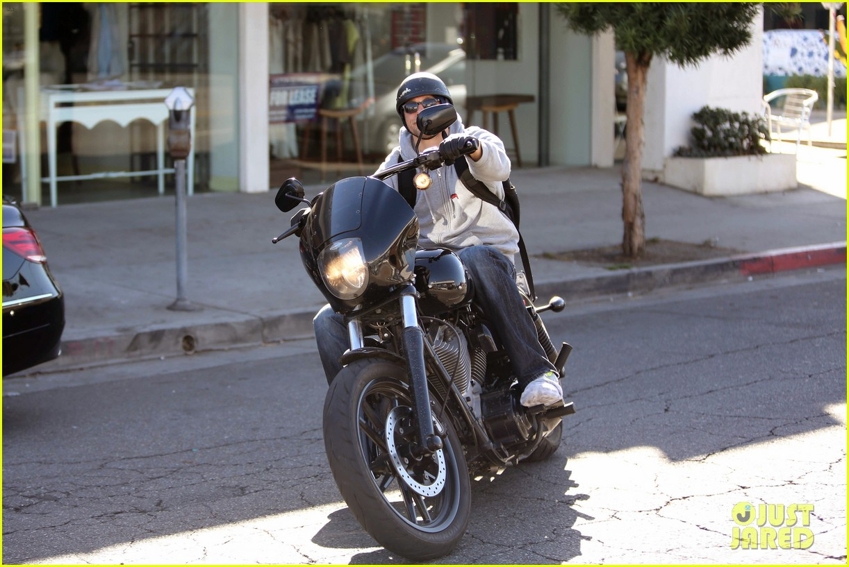 charlie hunnam west hollywood motorcycle man 16