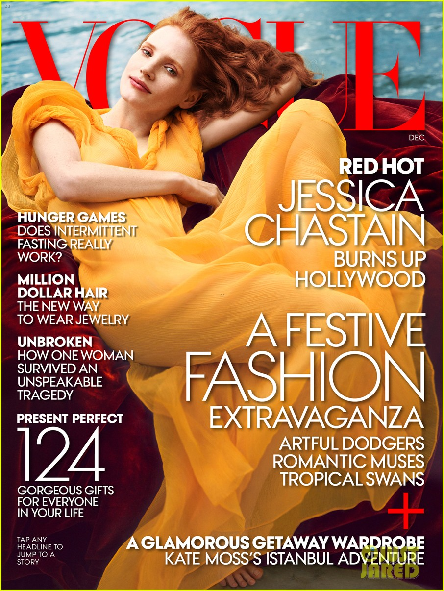 jessica chastain covers vogue december 2013 05