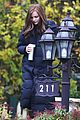 chloe moretz early morning filming for if i stay 03