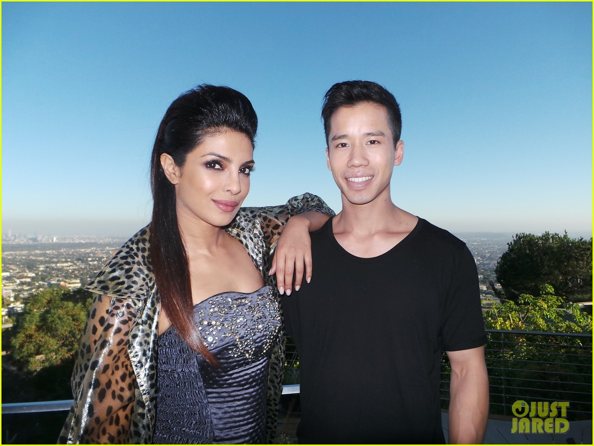 priyanka chopra just jared spotlight of the week behind the scenes pics 09