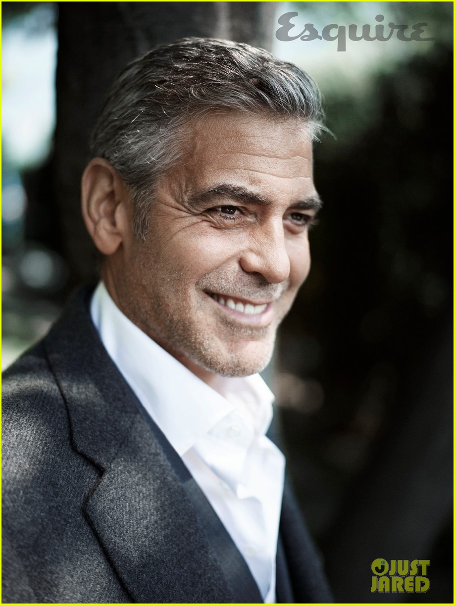 george clooney talks fame twitter brad pitt with esquire 03