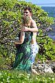 bradley cooper shirtless with john krasinski pregnant bikini clad emily blunt 04