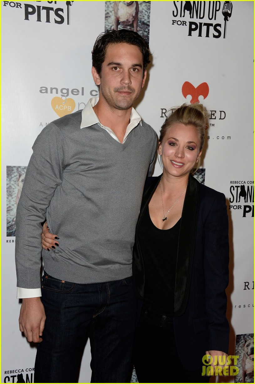 kaley cuoco ryan sweeting stand up for pits 122985955