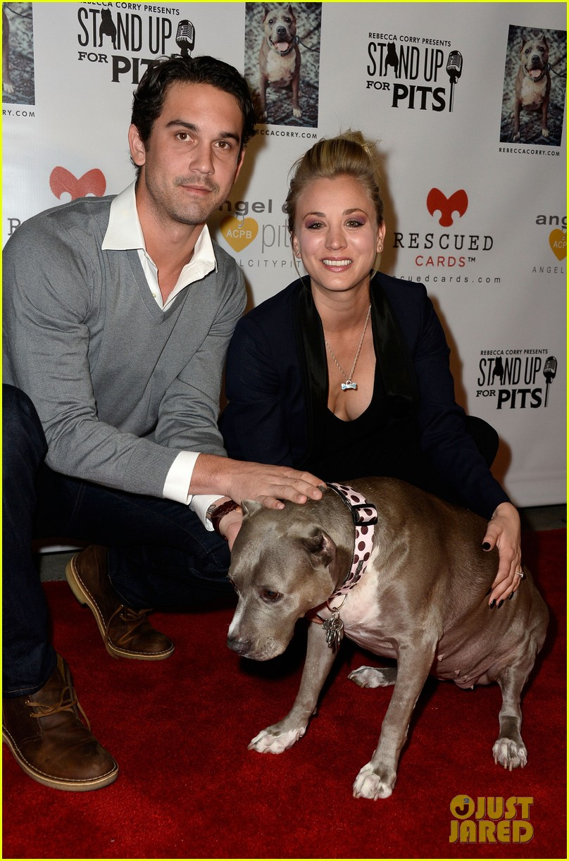 kaley cuoco ryan sweeting stand up for pits 13