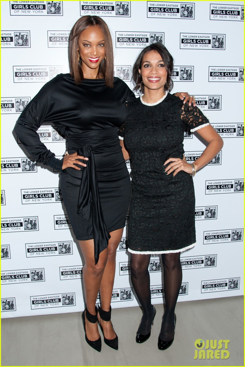 rosario dawson tyra banks lower east side girls club gala 03