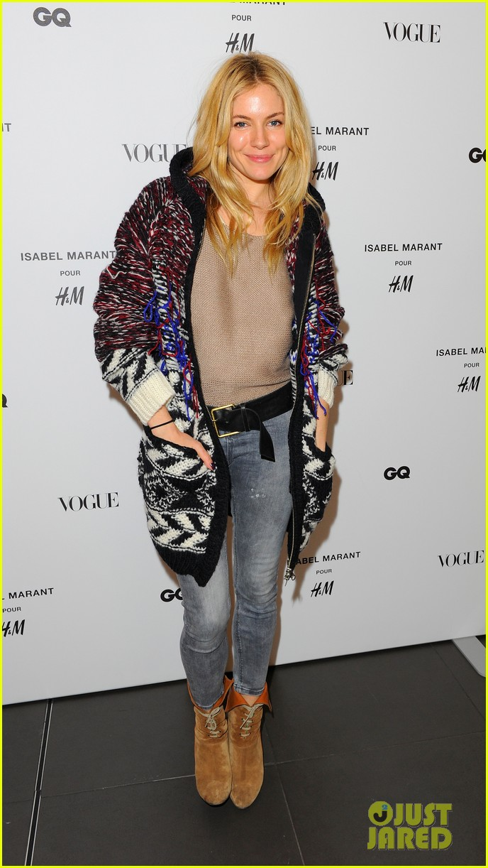 brooklyn decker sienna miller support isabel marant for hm 022991860