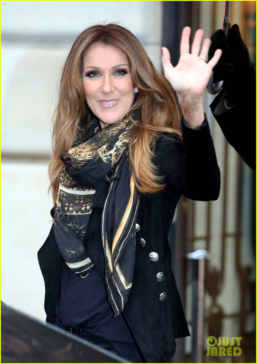 celine dion promotes loved me back to life in france 162992674