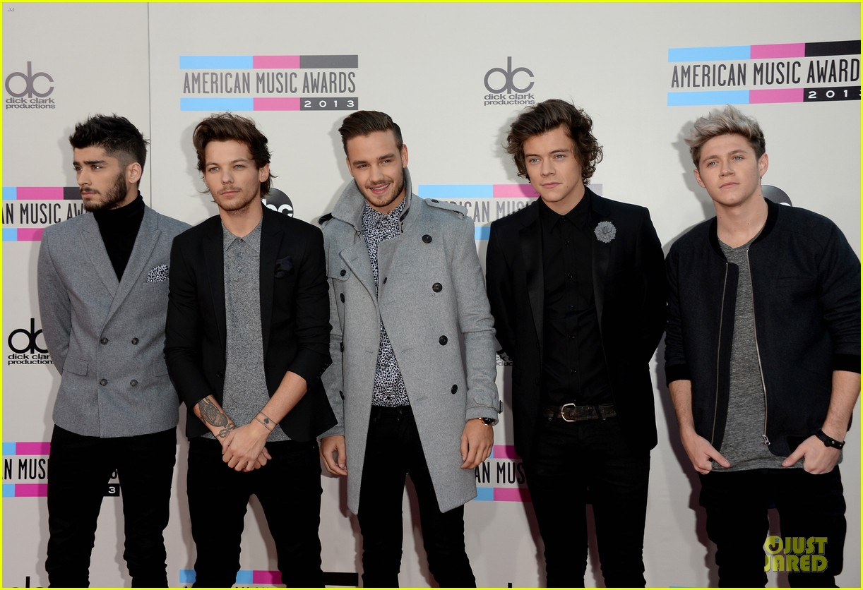 one direction amas 2013 red carpet 082999268