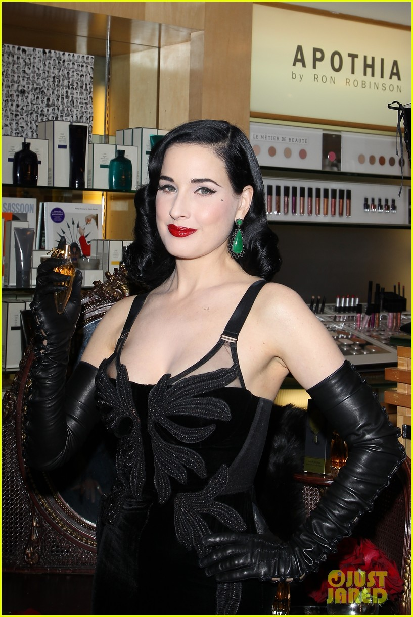 dita von teese erotique fragrance launch 11