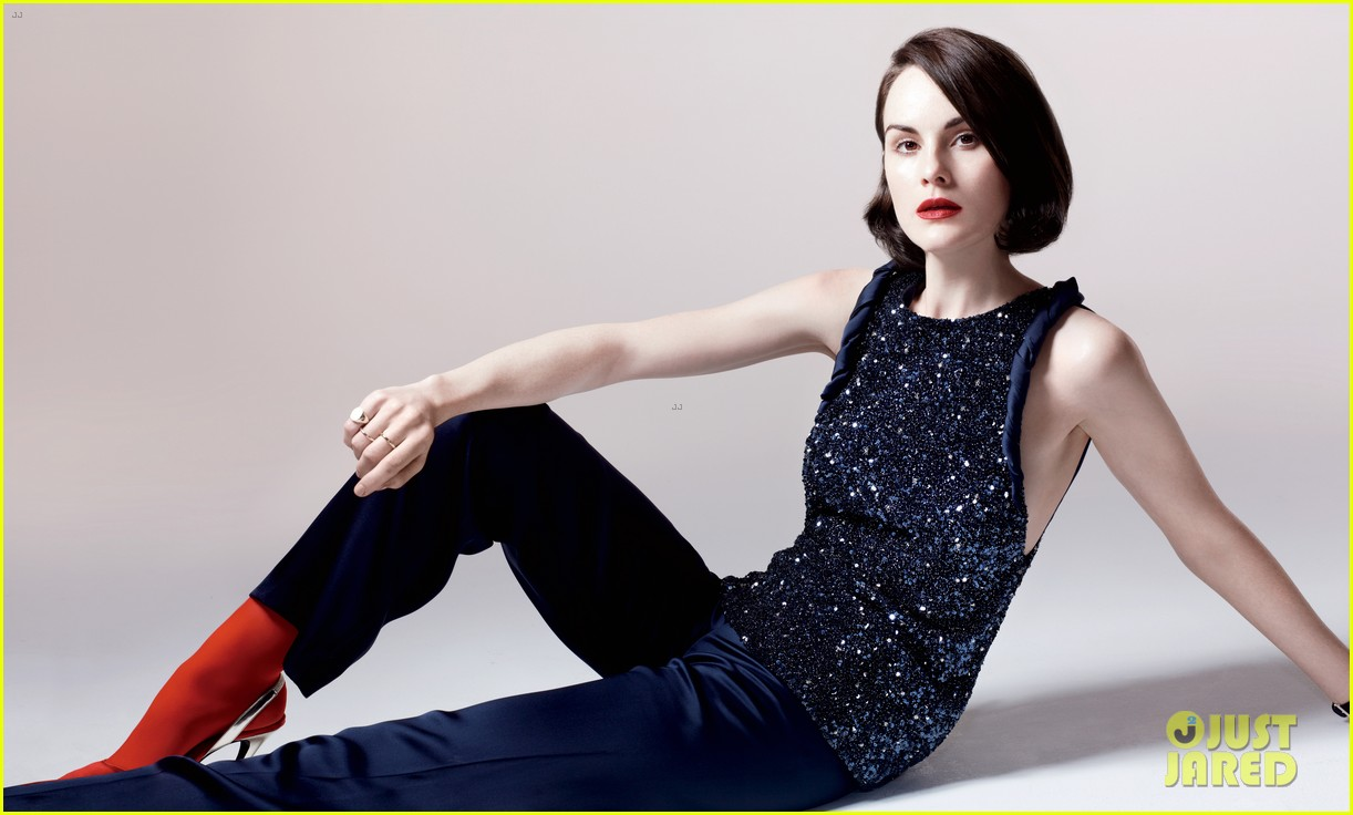 michelle dockery covers boston common holiday issue 013001743