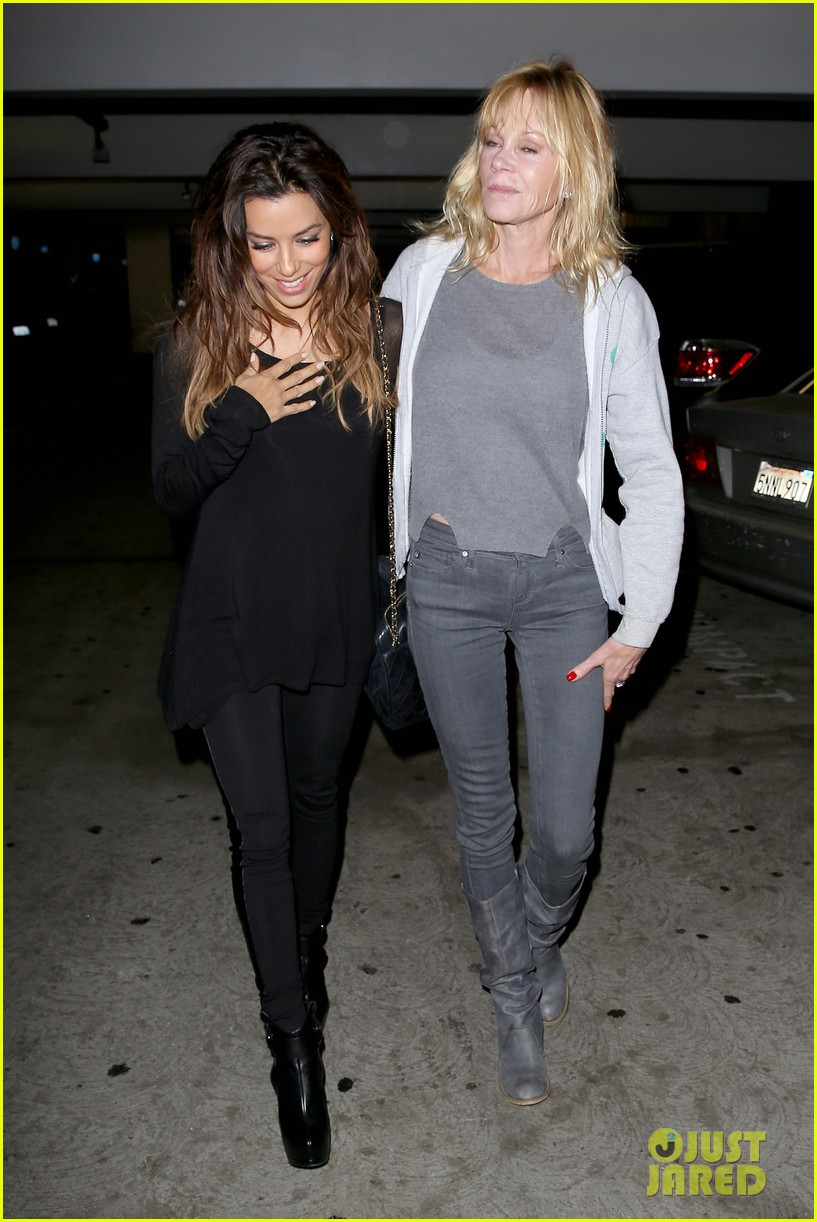 eva longoria melanie griffith enjoy girls night out 132985843