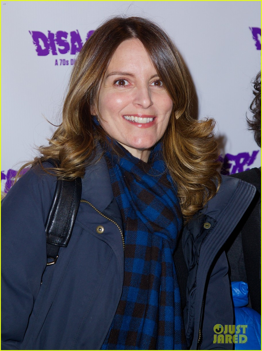 tina fey disaster opening night with jeff richmond 032986440