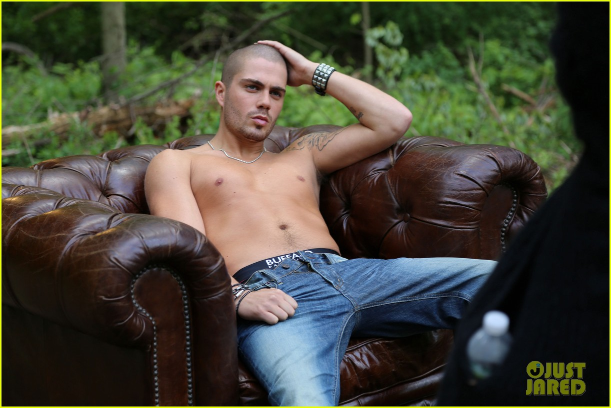 the wanted max george models underwear for buffalo 05