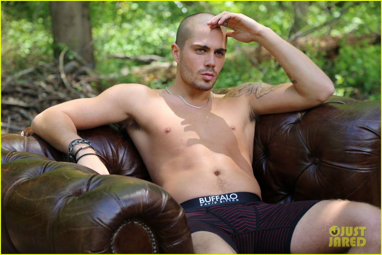 the wanted max george models underwear for buffalo 06