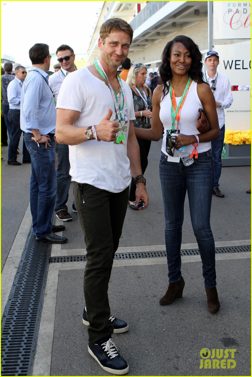 gerard butler fan friendly f1 championships 022994905