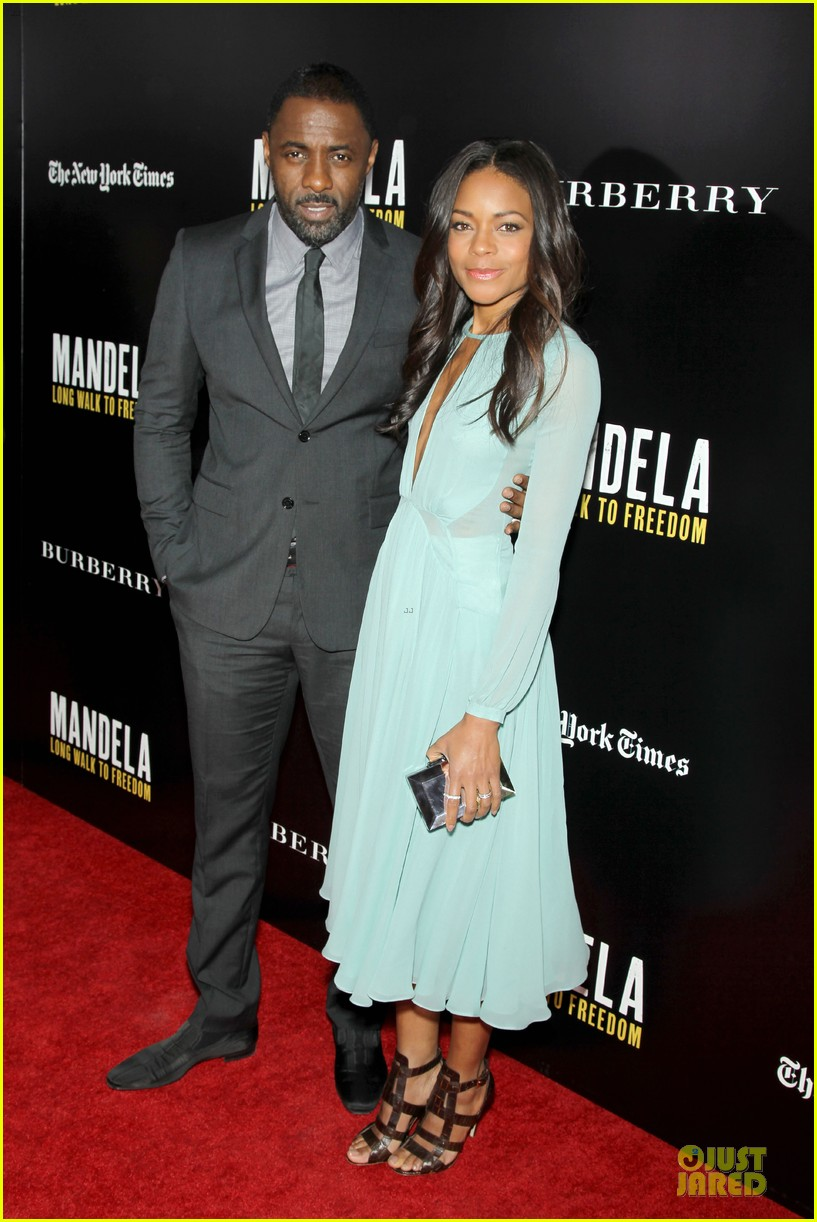 naomie harris idris mandela nyc screening 05