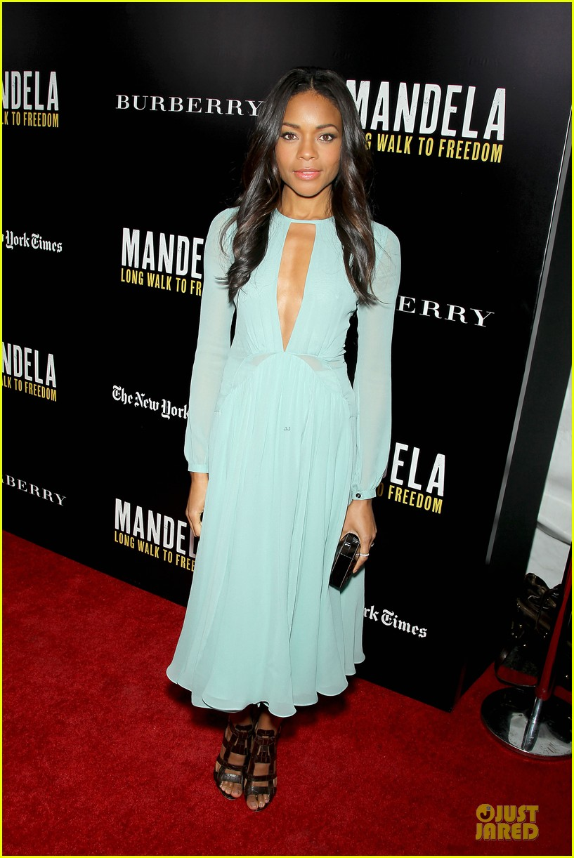 naomie harris idris mandela nyc screening 093000369