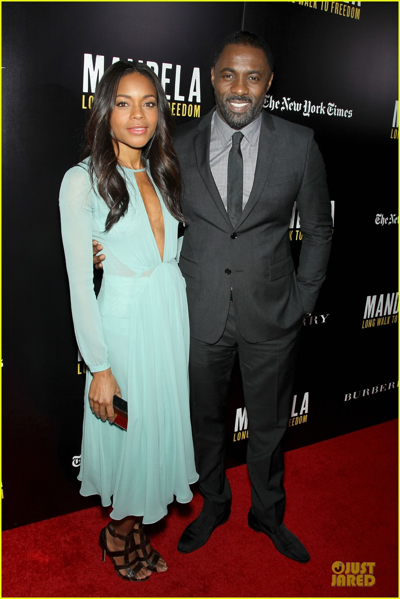 naomie harris idris mandela nyc screening 17