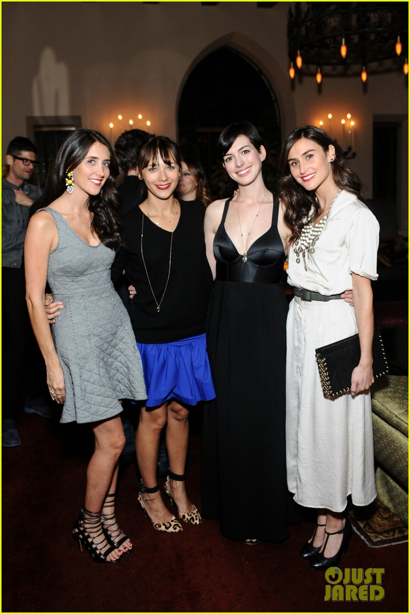 anne hathaway rashida jones fine by dannijones dinner 22