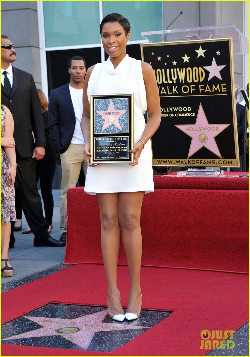 jennifer hudson receives star on hollywood walk of fame 012992014