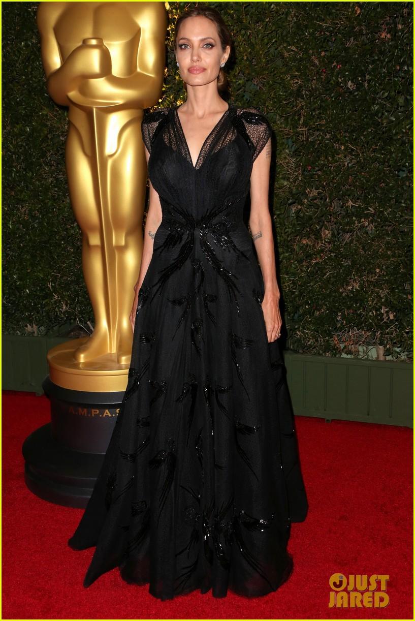 Angelina Jolie & Brad Pitt: Governors Awards 2013 with ...