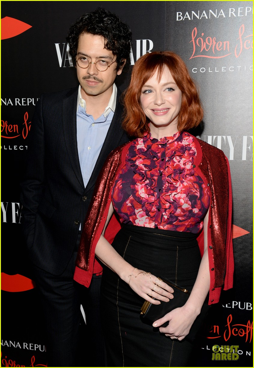 rashida jones christina hendricks banana republic lwren scott collection launch 02