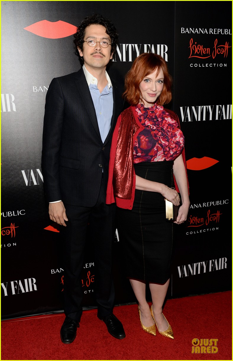 rashida jones christina hendricks banana republic lwren scott collection launch 11