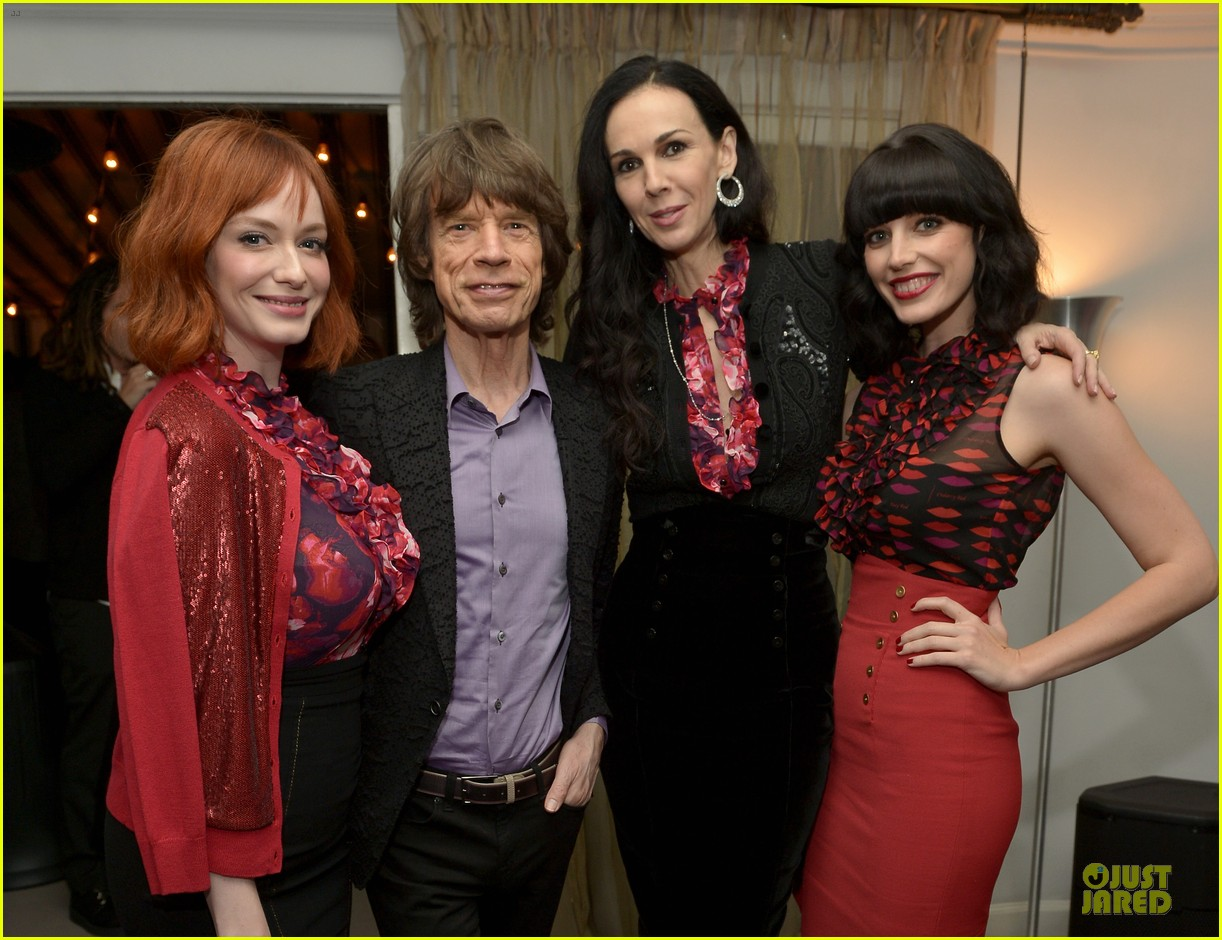 rashida jones christina hendricks banana republic lwren scott collection launch 19