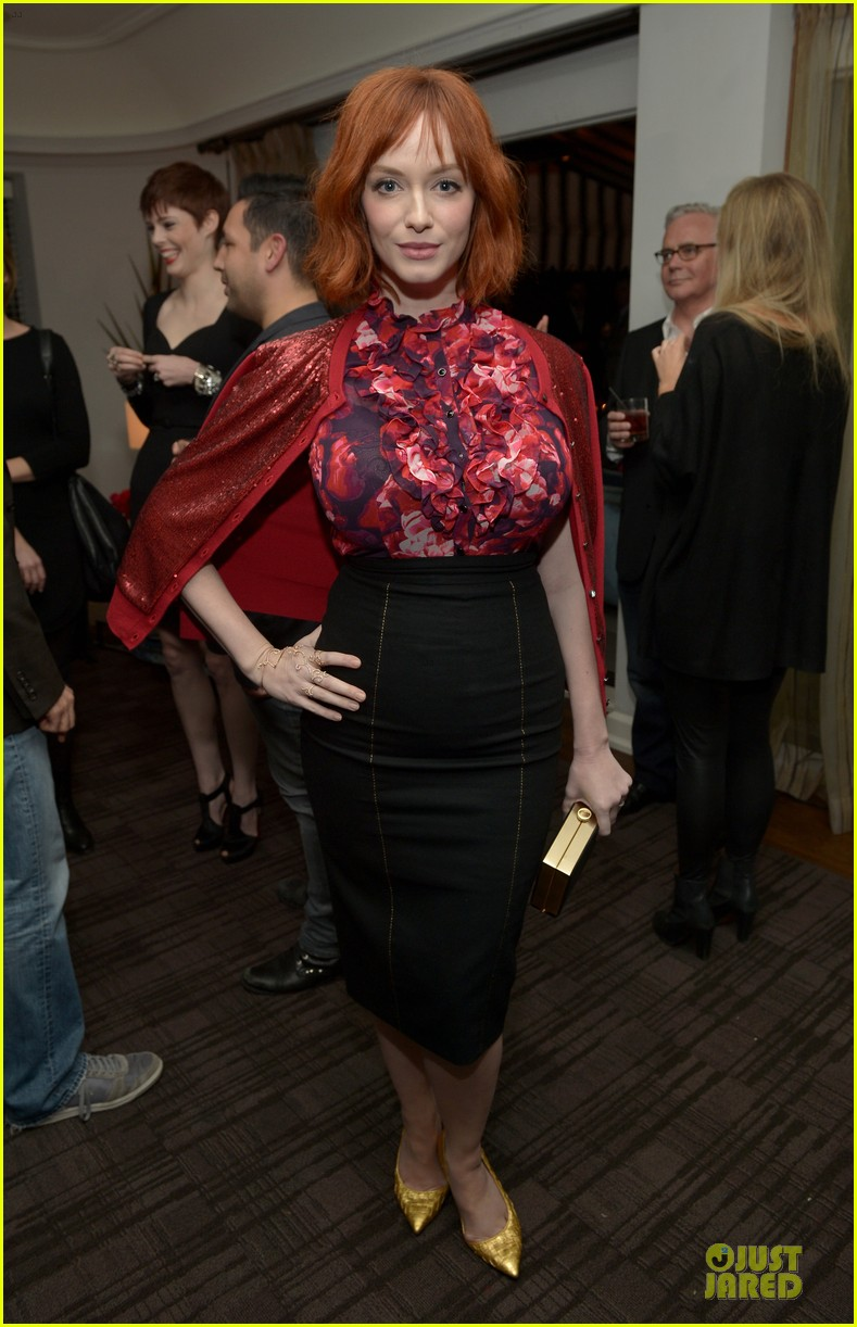 rashida jones christina hendricks banana republic lwren scott collection launch 27