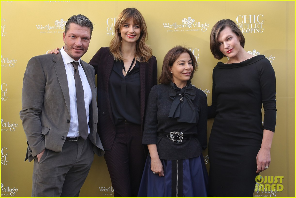 milla jovovich wertheim village 10th anniversary celebration 152990382