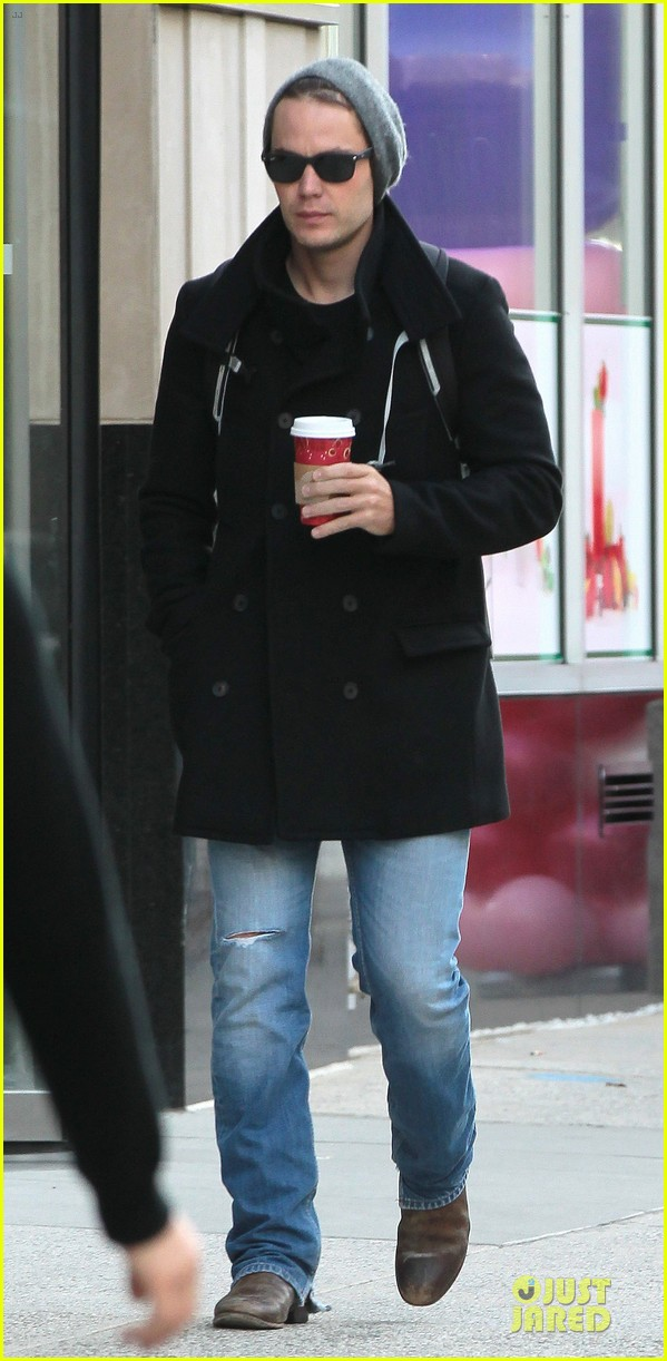 taylor kitsch wraps week with coffee 01
