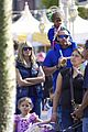 heidi klum spends sunday at disneyland with family 02