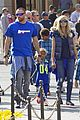 heidi klum spends sunday at disneyland with family 03